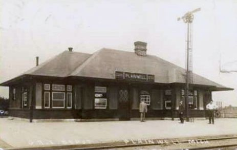 PRR Depot at Plainwell